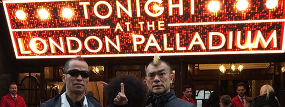 Gamarjobat at the London Palladium on ITV1