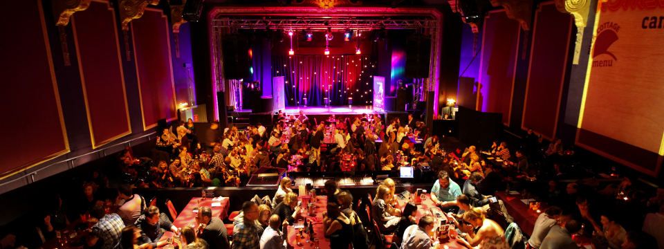 Komedia voted Best Venue at the 2013 Chortle Awards